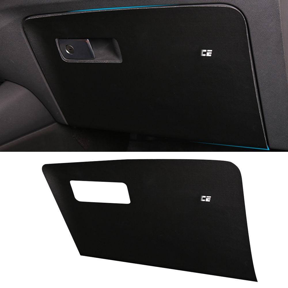 Accessoires voiture passager boîte à gants couverture Autocollant Garniture en cuir PU protecteur Décoration pour BMW X3 G01 X4 G02 2018-2020