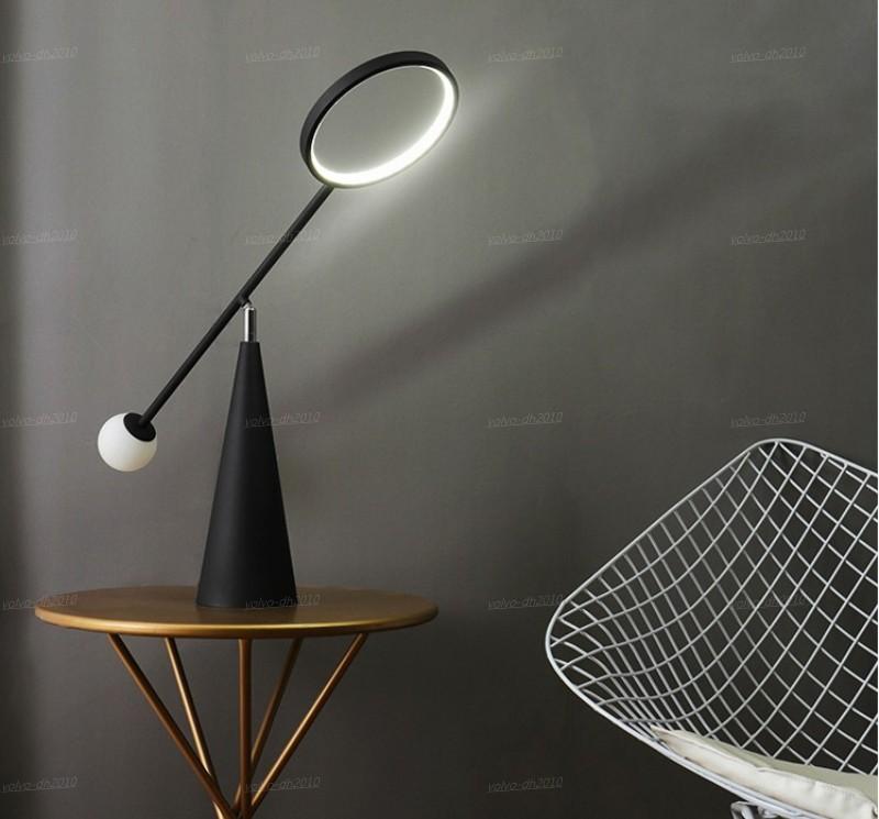 Post Modern lampara palla di vetro di vetro di colore del led mesa lampadari da cucina noche pranzo camera da letto deco della stanza LLFA