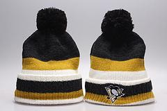 Fashion-Winter Beanie Hats for Men Knitted NHL Wool Hat Gorro Bonnet with San Jose SharkBoston Bruins Pittsburgh Penguins Winter Warm Cap