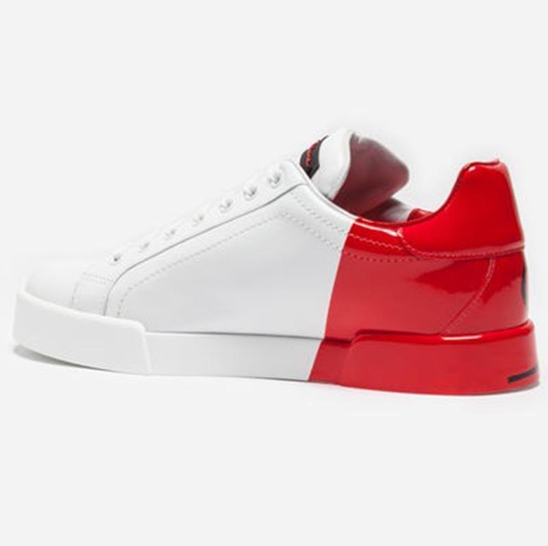 Klasik erkekler rahat ayakkabılar Lüks DERİ PORTOFINO SNEAKERS Marka Tasarımcı ayakkabı Yüksek kaliteli adam ayakkabılarını Boyut 38-44 Modeli HZH5 hococal