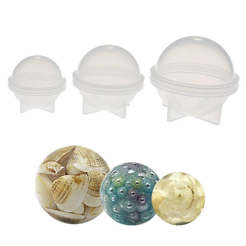 Ball Planet Shape Silicone Jewelry Molds Clay Epoxy Resin Pendant Decoration Candy Chocolate Cake Diy Tool