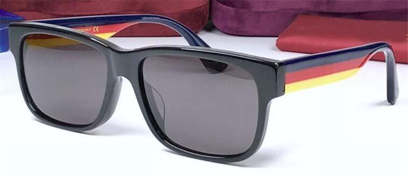 Luxe-2018 nouvelles lunettes de soleil de designer de mode 0340 petit cadre carré top qualité uv400 protection extérieure lunettes noble style simple