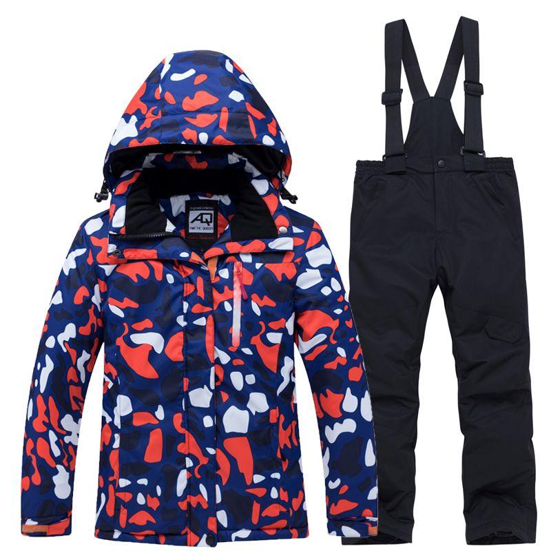 Waterproof Ski Snowboard Coat Jacket Fleece Lined Winter Warm Windproof Snowsuit