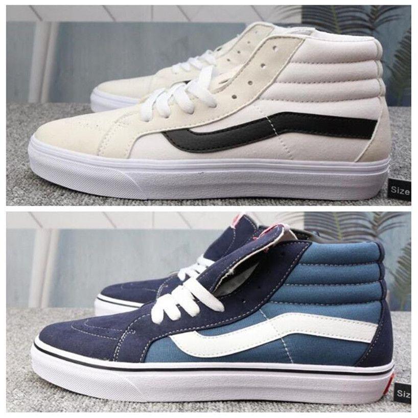 2020 Original Van old skool black white yacht club FEAR OF GOD Slip On Checkerboard Red canvas mens sport sneakers running shoes
