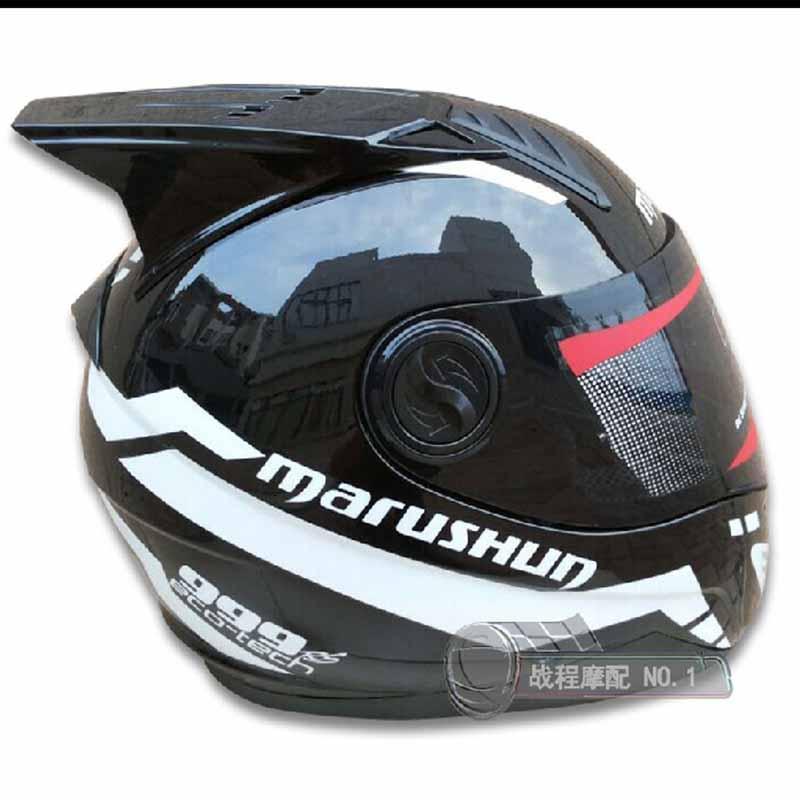Бесплатная доставка мотоцикл шлет мужской мотоцикл шлет DOT утвержден каско мотоцикл ABS Материал верх анфас
