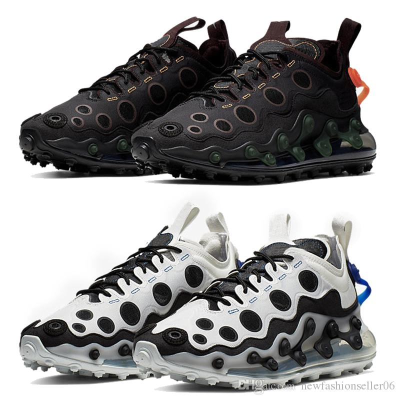 Nike AIR Max 720 Nuevos Zapatos ISPA Ejecución De Kanye Airmax 720 Negro  Blanco Diseño Reaccionar Elemento 87 Zapatos Para Mujer Para Hombre Deporte  ...