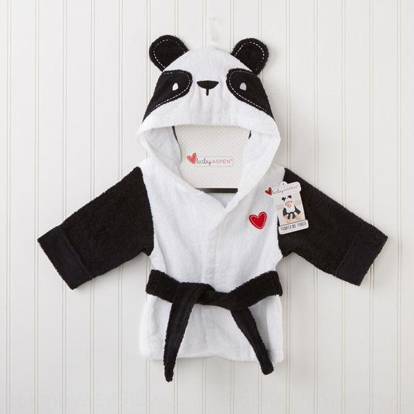 towel cute panda children's pajamas Faraday warm Bath bath pajamas and bathrobes robe children's bath robe