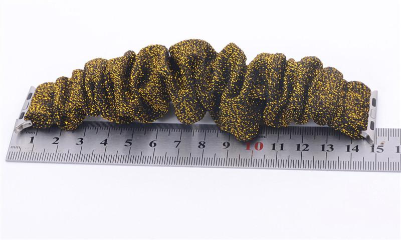 Tecido de malha watchbands Para Apple Watch Strap Blingbling para iWatch 38 milímetros 42mm Bandas Pulseira Pulseiras Straps Esporte Circuito DHL