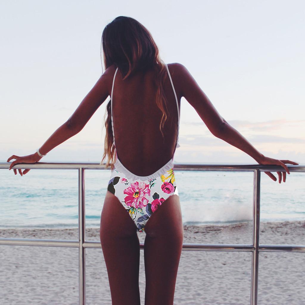 한 조각 수영복 플러스 사이즈 여성 인쇄 2019 새로운 수영복 여성 한 조각 모노 키니 섹시 비치웨어 수영복 옷을 무료 배송 비키니