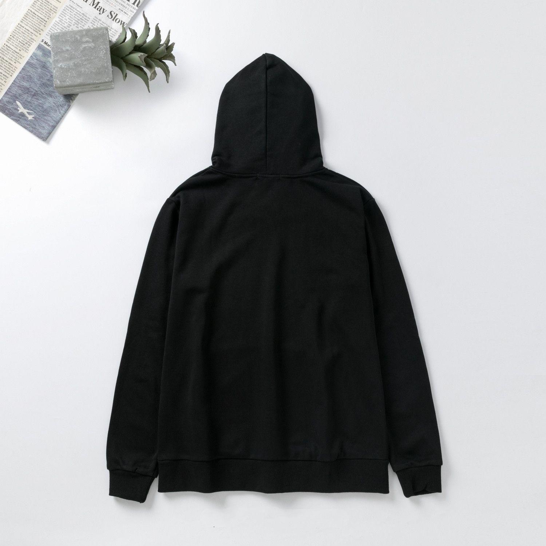 2020 Frühling und Sommer Neue Stil High-End-Qualitätshulpfer für Männer und Frauen in der schwarzen Pullover Größe M-XXL 0806
