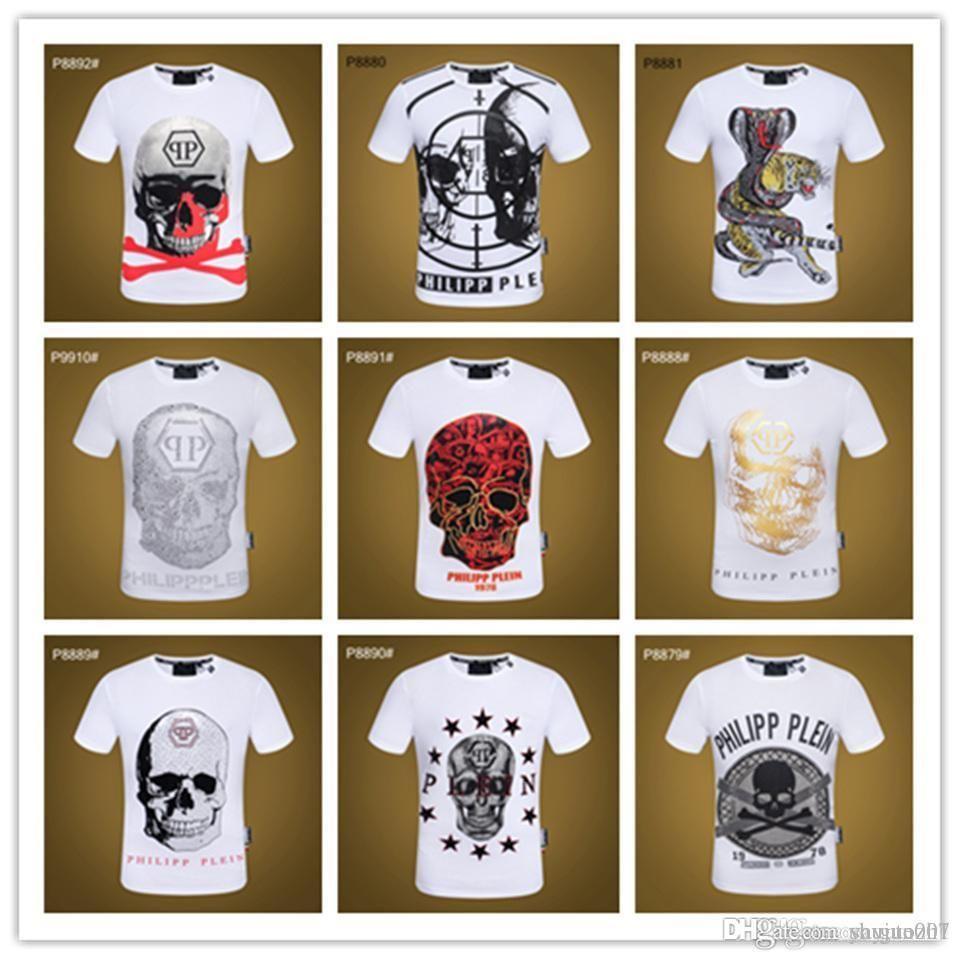 IDUZI 디자인 남성 T 셔츠 해골 문자 인쇄 3D T 셔츠 쿨 탑스 O-Neck 캐주얼 블루 Tshirts 남성 티셔츠 플러스 사이즈 5XL
