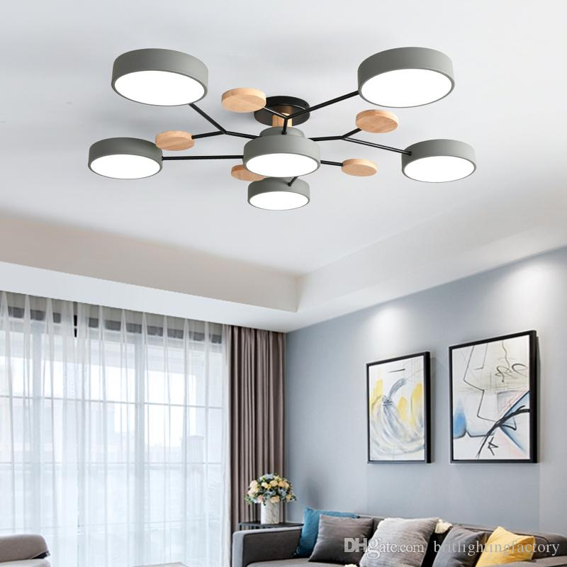 13 Nordic Living Room Led Ceiling Light Fixtures Simple Modern