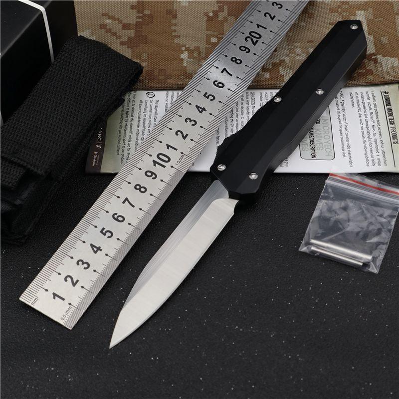 Otomatik bıçak EDC sağkalım bıçak yarar Bıçak avcılık taktik bıçaklar kalem öz savunma bıçak 7cr17mov çelik kamp knive bıçağı
