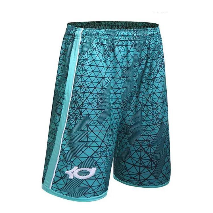 High Quality Basketballs Short Summer Brand KD Kevin Durant Hot Baggy Bermuda Male Loose Runs Men's Shorts Active Plus Size 3XL