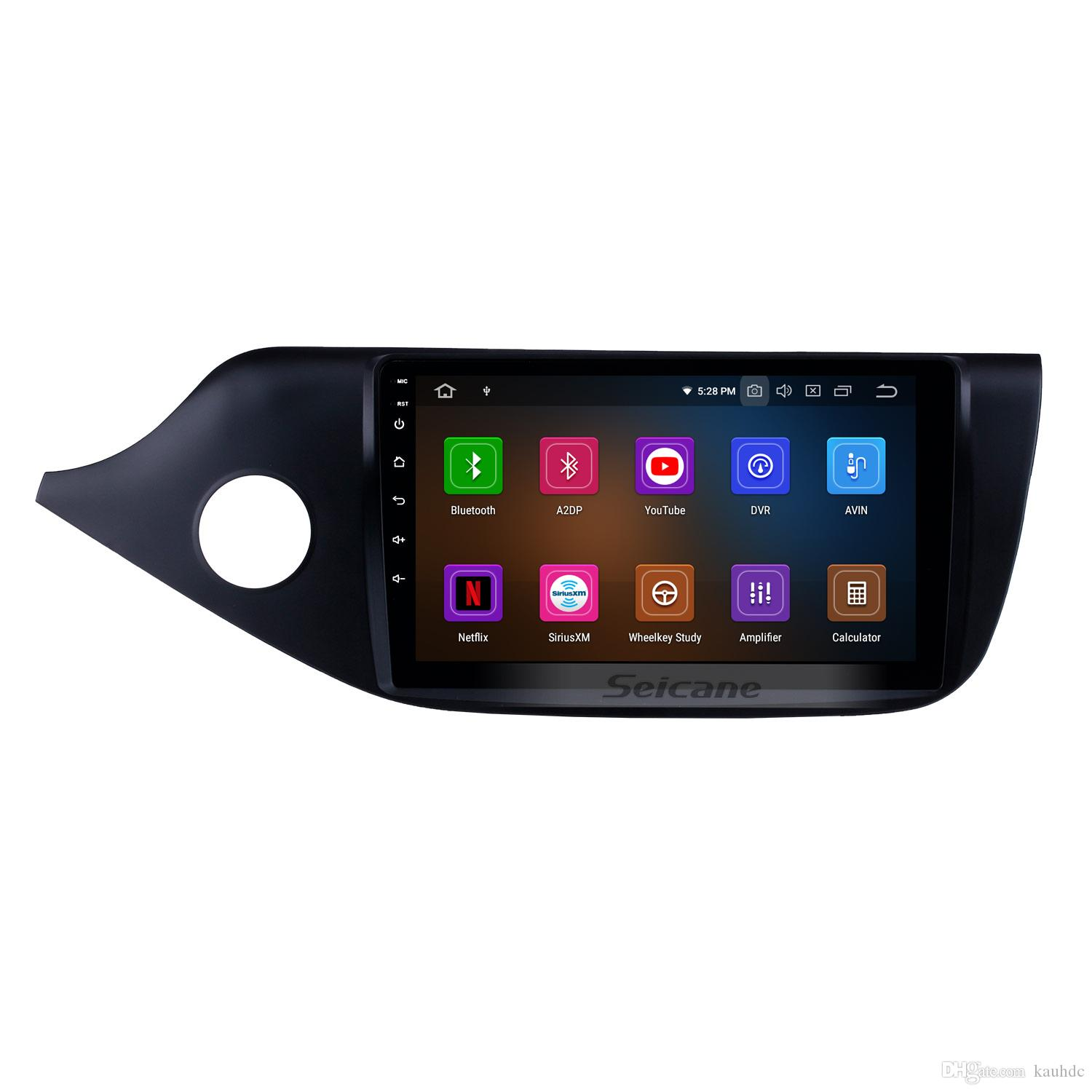 OEM 9 inch Android 9.0 Car GPS Navigation Radio for 2012 2013 2014 Kia Ceed (LHD) with WIFI USB Bluetooth support car dvd Backup Camera DAB+