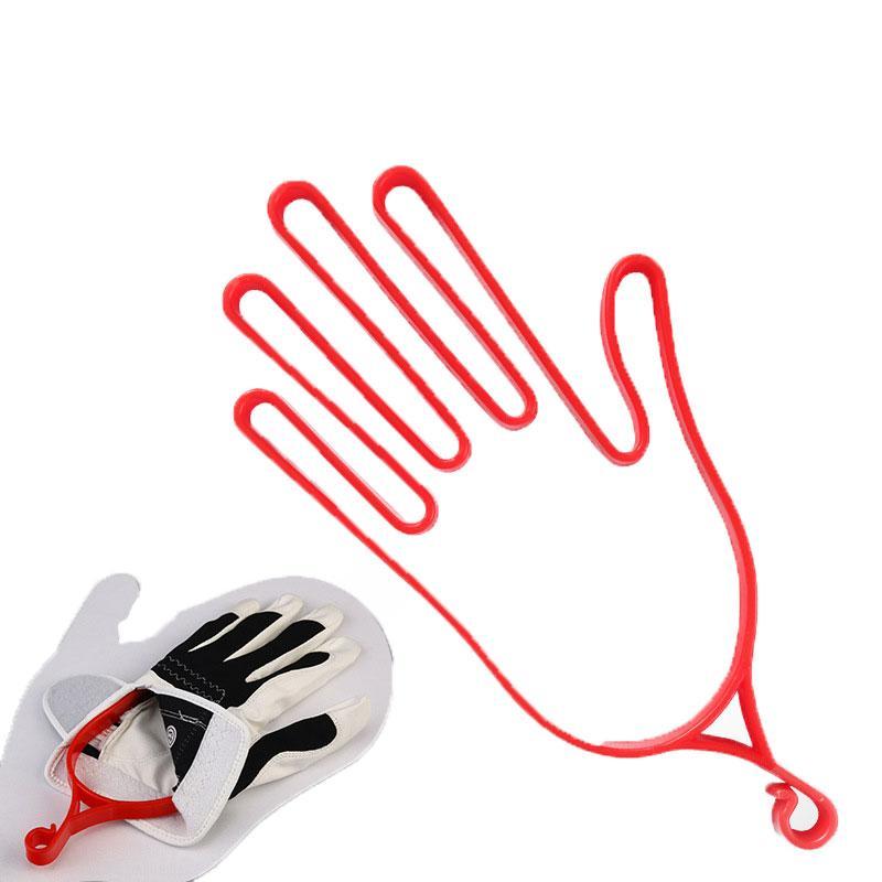 Gants de golf Gants de golf Brancard engrenage en plastique Porte-bagages Sèche-Hanger Brancard extérieur Golf Accessoires D0021 #