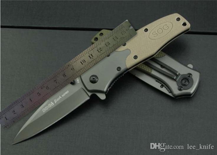 coltello SOG.KS931A (versione in pietra e acciaio) di caccia di campeggio libero regalo selvaggio