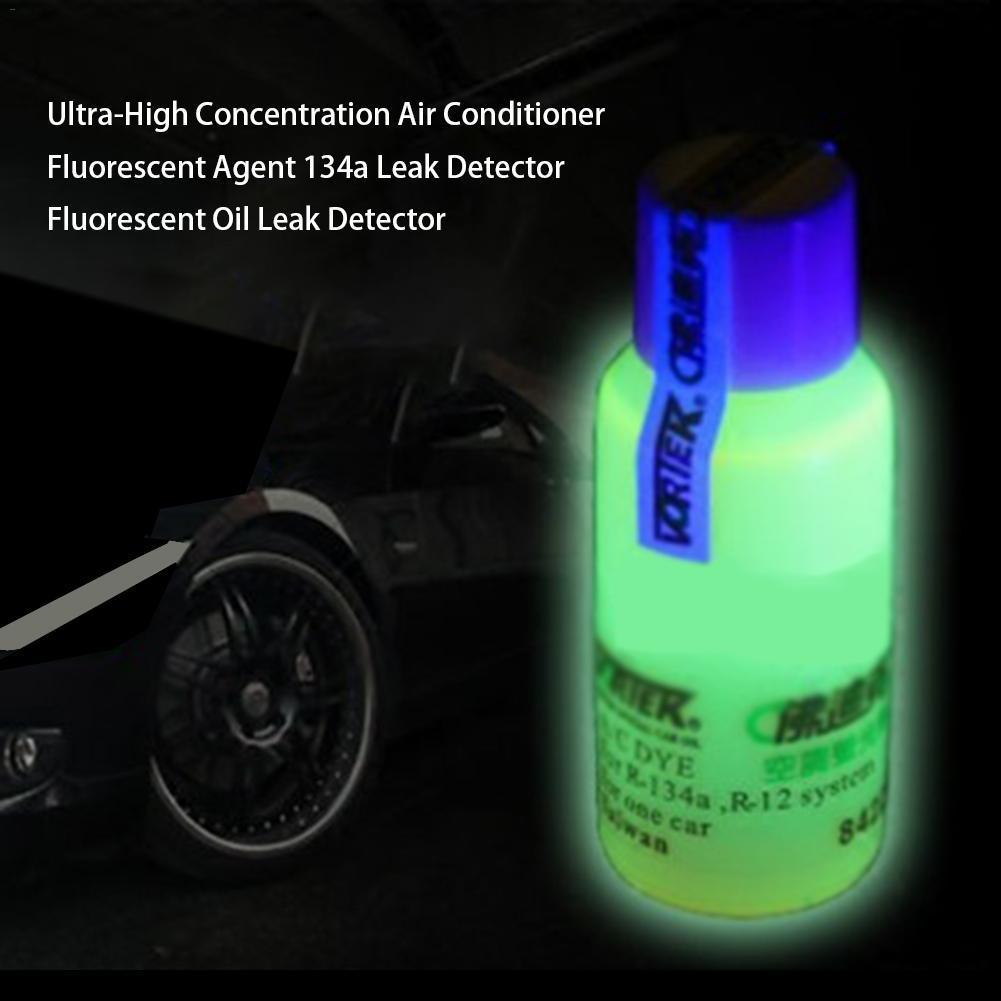 자동차 형광 에이전트 높은 농도의 R134a 공조 A / C 시스템 누설 테스트 에이전트 자동차 냉동 추적기 오일 자동차