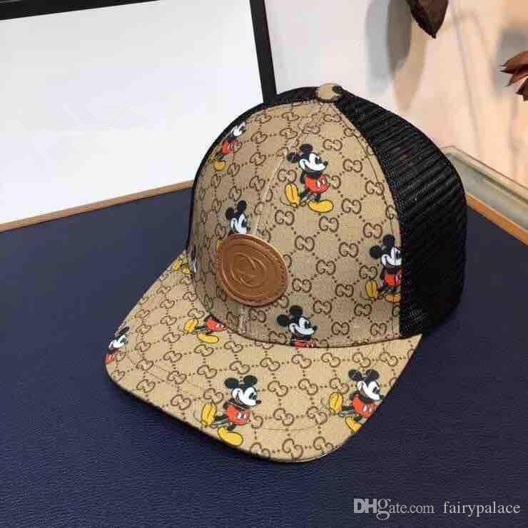superiore del progettista di marca cappuccio di qualità delle donne degli uomini curvi Golf visiera Cappelli Vintage Lettera Snapback Cap Casquette Sport Baseball Gorras regolabile