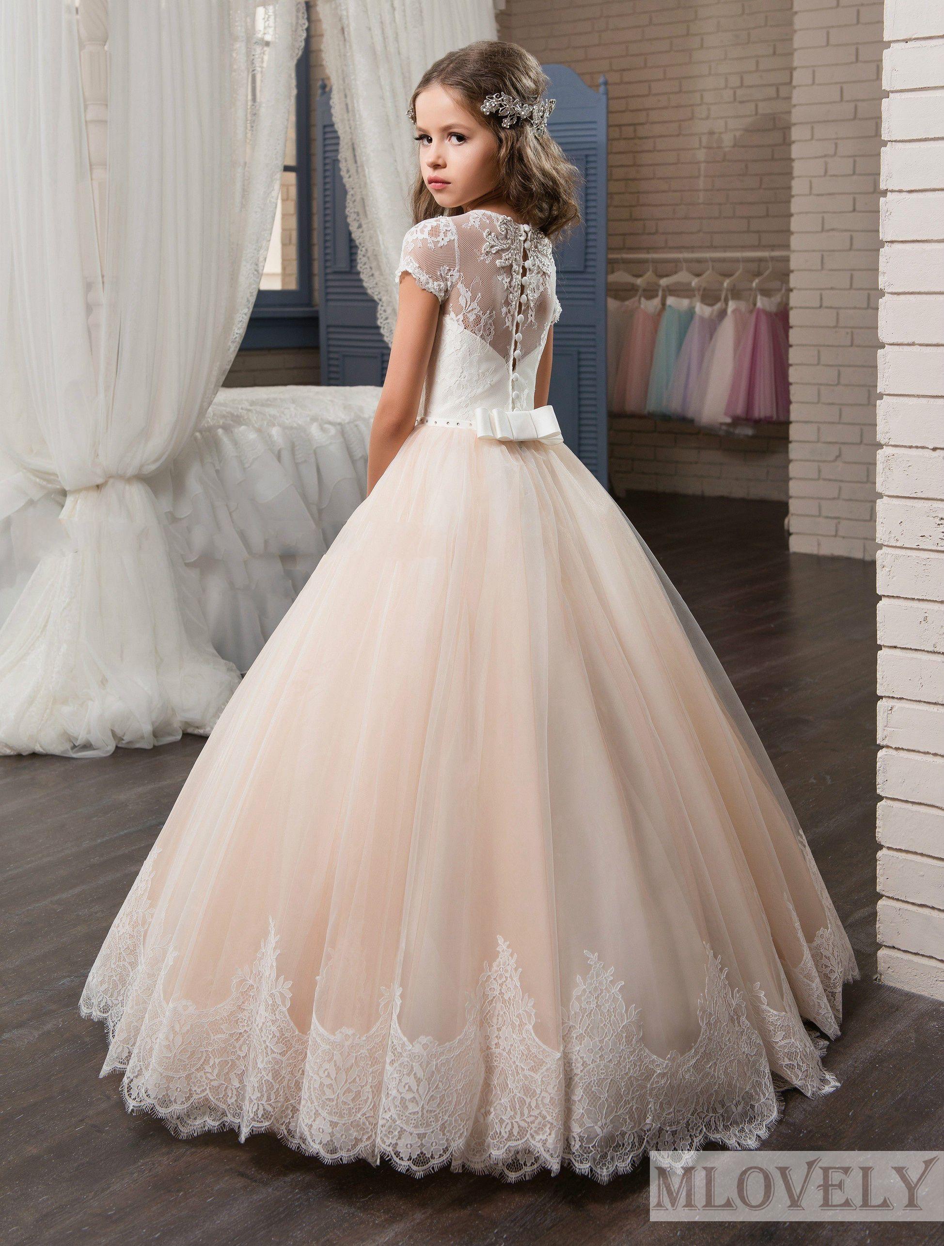 Gorgeous Tulle Princess Pink Kids Girls