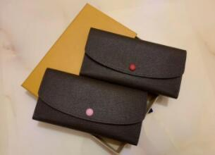 2020 Pocket Red 6 Design Long Coin Multicolor Colour Holder Purse Classic Wallet Women Card Lady New Bottoms Zipper No Box Ggeut