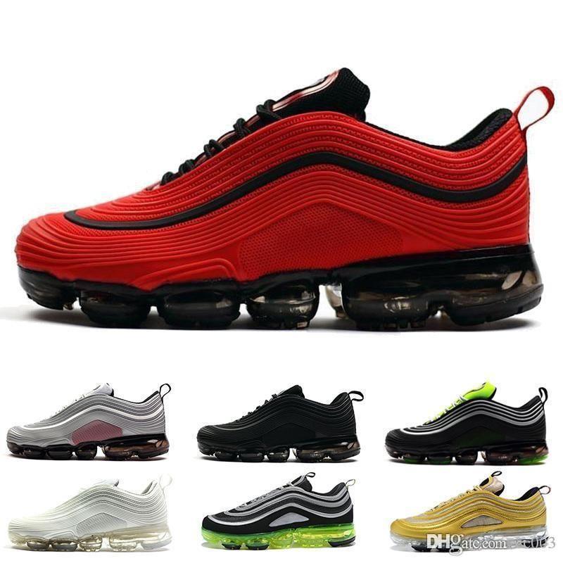 Con Top Box 2019 invicto Ultra Plus OG hombres de los zapatos corrientes Run Deportes Correr a pie para hombre Blanco Azul Entrenadores zapatos deportivos