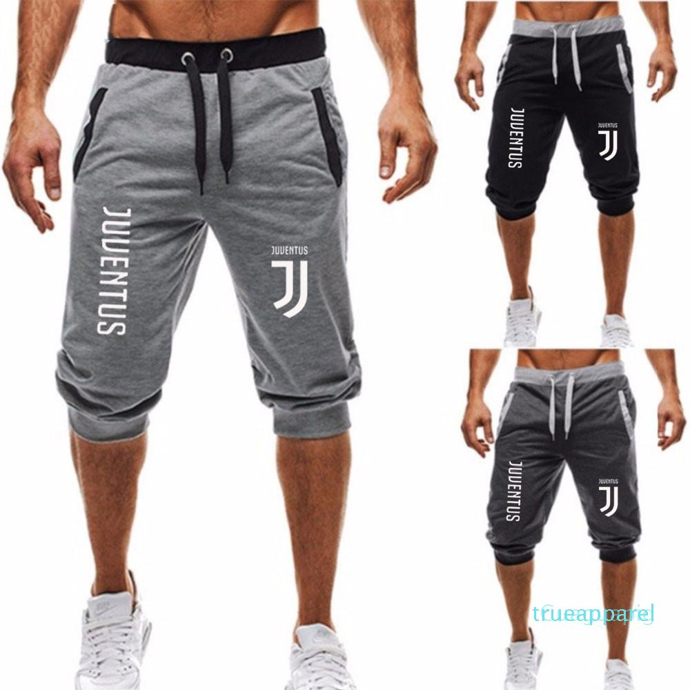 Sommer-Shorts Herren Bermuda 2020 Sommer Jogger Männer Shorts Buchstabedruck Männlich Männer schließen beiläufige Eignung der M-3XL