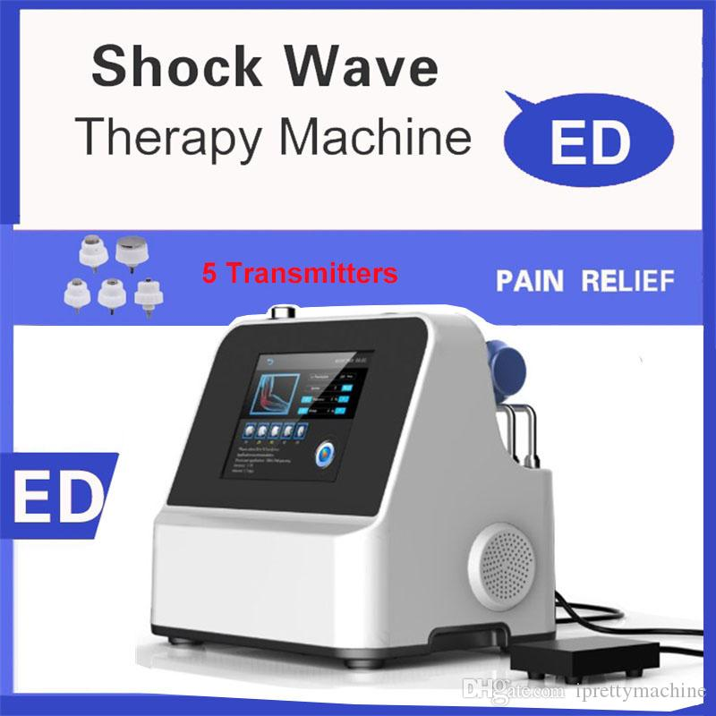 Portable Low Intensity Shock Wave Machine For ED Treatment Shockwave Therapy ED Machine With Free Shipping