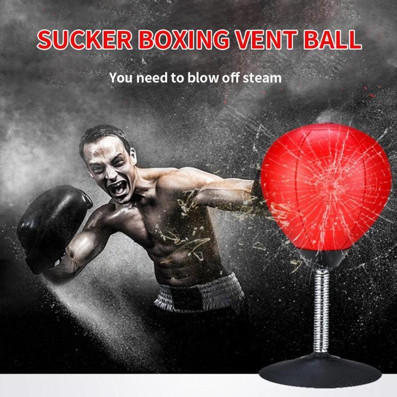 Fitness sacco da boxe Desktop Vent palla Boxing Palla Desktop Punching Bag Mini Punch velocità Sport Balls Vent stand Boxing