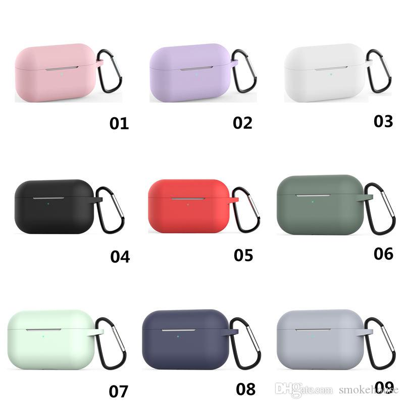 2020 Case For Airpods Pro Gen 3 Silicone Soft Protective Cover