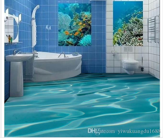 욕실 벽 방수 벽지 3D 벽화 벽지 거실