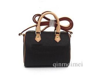 Bolsa de couro de flor marrom saco meninas 2019 estilo clássico versão coreana bolsa bolsa bolsa mini saco 16 cm com número de série