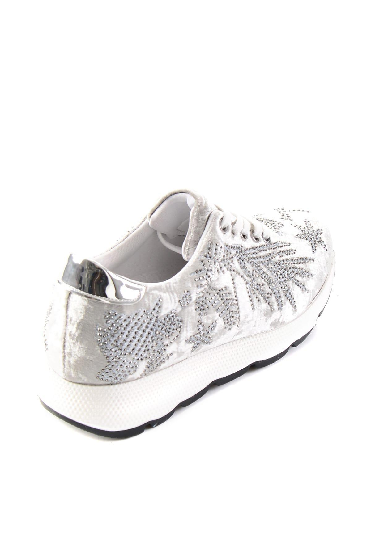 Bambi Argent Femmes Sneaker H0512022089