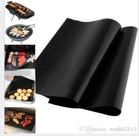 Geleneksel Siyah renk Izgara ve Fırında Paspaslar Isı İletken BARBEKÜ Mutfak Aracı Sıcak satış sıcak öğe