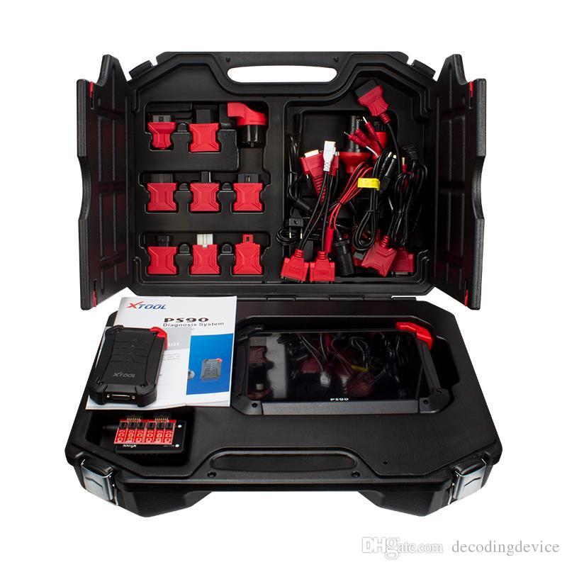 무선 랜과 함께 키 프로그래머 / 주행 Correctio / EPS 지원 멀티 자동차 모델 OBD2 자동차 진단 도구 / BT XTOOL PS90 자동차