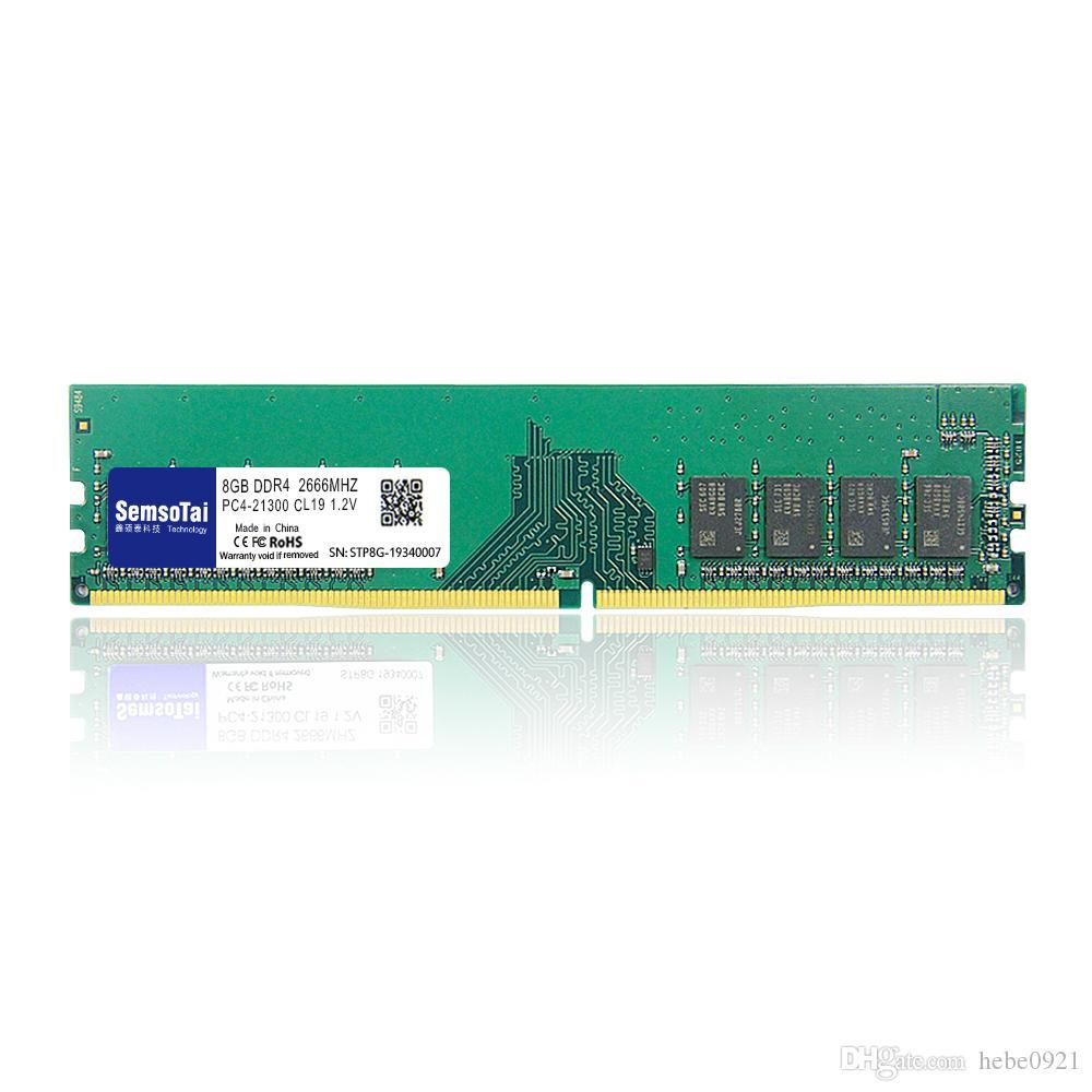 Memória DDR4 8G 2666MHZ RAM ddr4 PC4-21300 Udimm 8G para Desktop