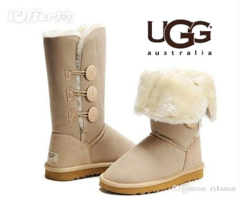 Hot sell 2019 High Quality Australia Women's Classic tall Boots Womens boots Boot Snow boots US SIZE 4--12 free shipping