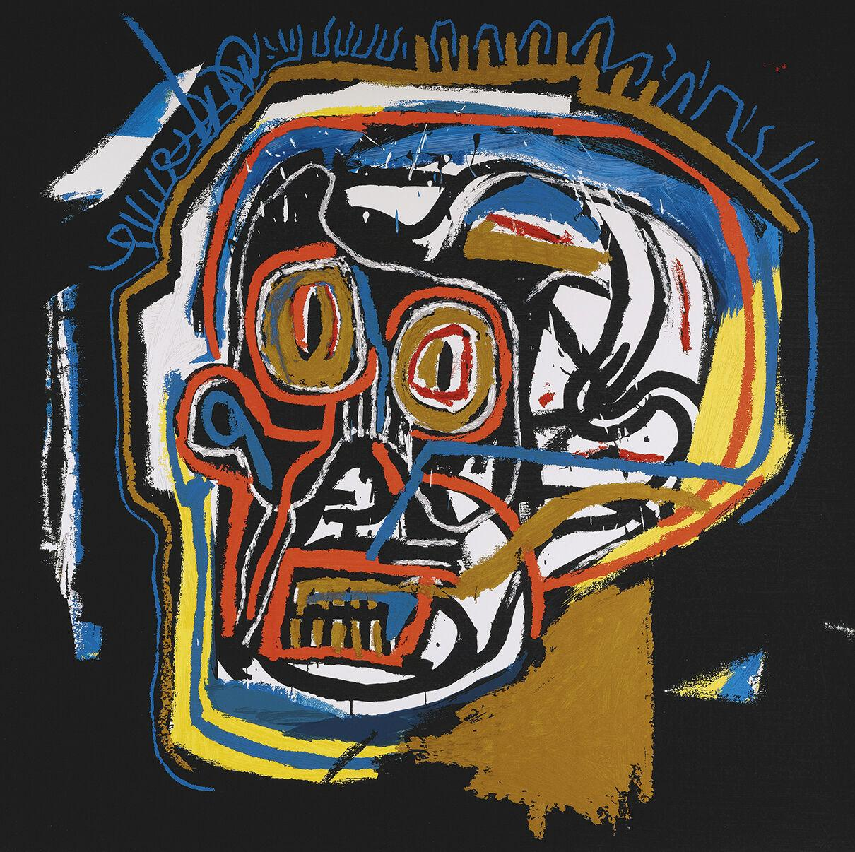 UNTITLED 1983 ERNOK HEAD by JEAN-MICHEL BASQUIAT Home Decor Handcrafts /HD Print Oil Painting On Canvas Wall Art Canvas Pictures 200305