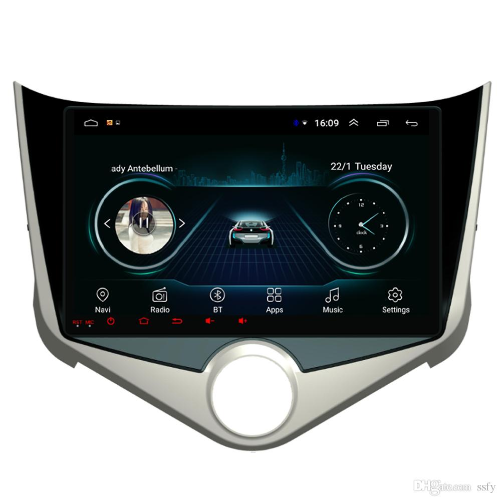 """Android car player with HD 1080 Resolution HD 1024 * 600 multi-touch screen bluetooth microphone mp3 mp4 music for Chery fulwin 2 9"""""""