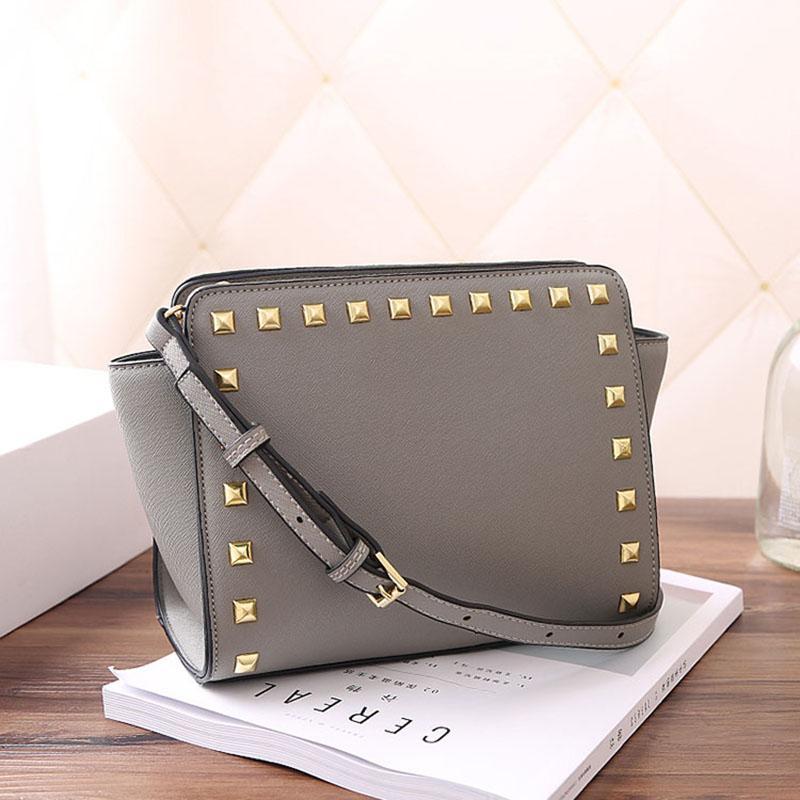 디자이너 - 도매 디자이너 명품 핸드백 지갑 크로스 패턴 어깨에 매는 가방 PU 핸드백 여성 가방 리벳