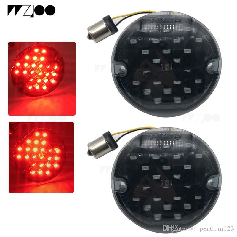 1157 baz LED Dönüş Sinyalleri için hafif Softail / Yol Kralı / Ultra Klasik / Yol Glide / Ultra Sınırlı / Electra Glide