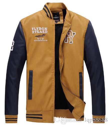 Giacche da motocicletta da uomo nuove in pelle da uomo, in pelle, giacche da uomo giovani giacche sottili