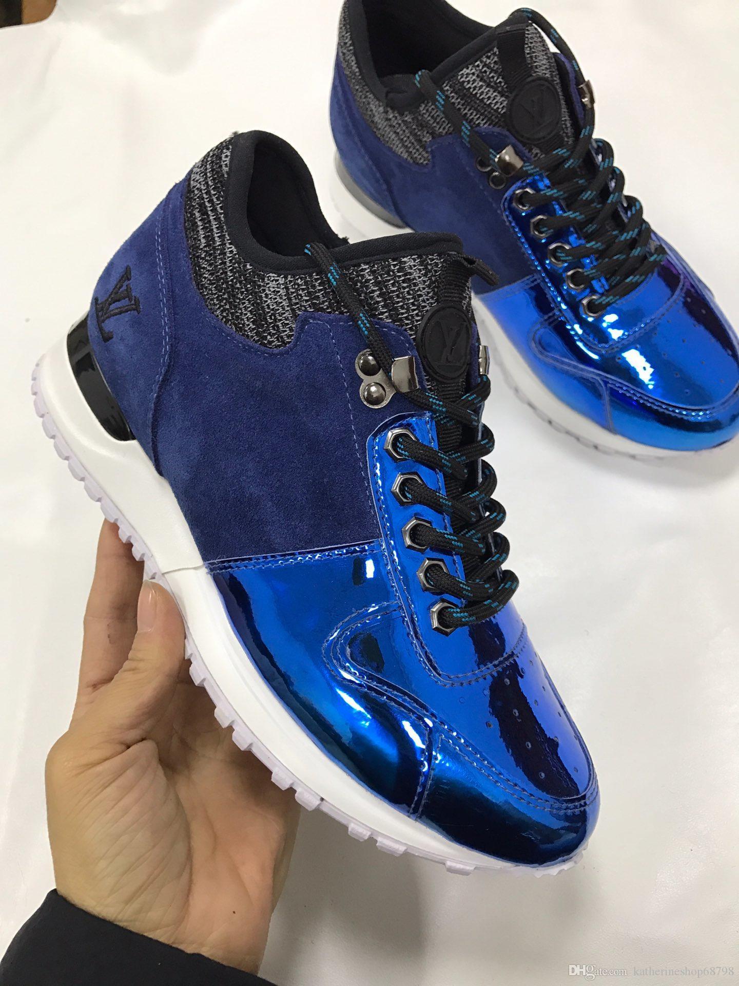 as últimas mais novo topo378 couro genuíno Sneakers moda casual sapatos da moda brancos formadores sapatas das mulheres mistos sneakers Cor