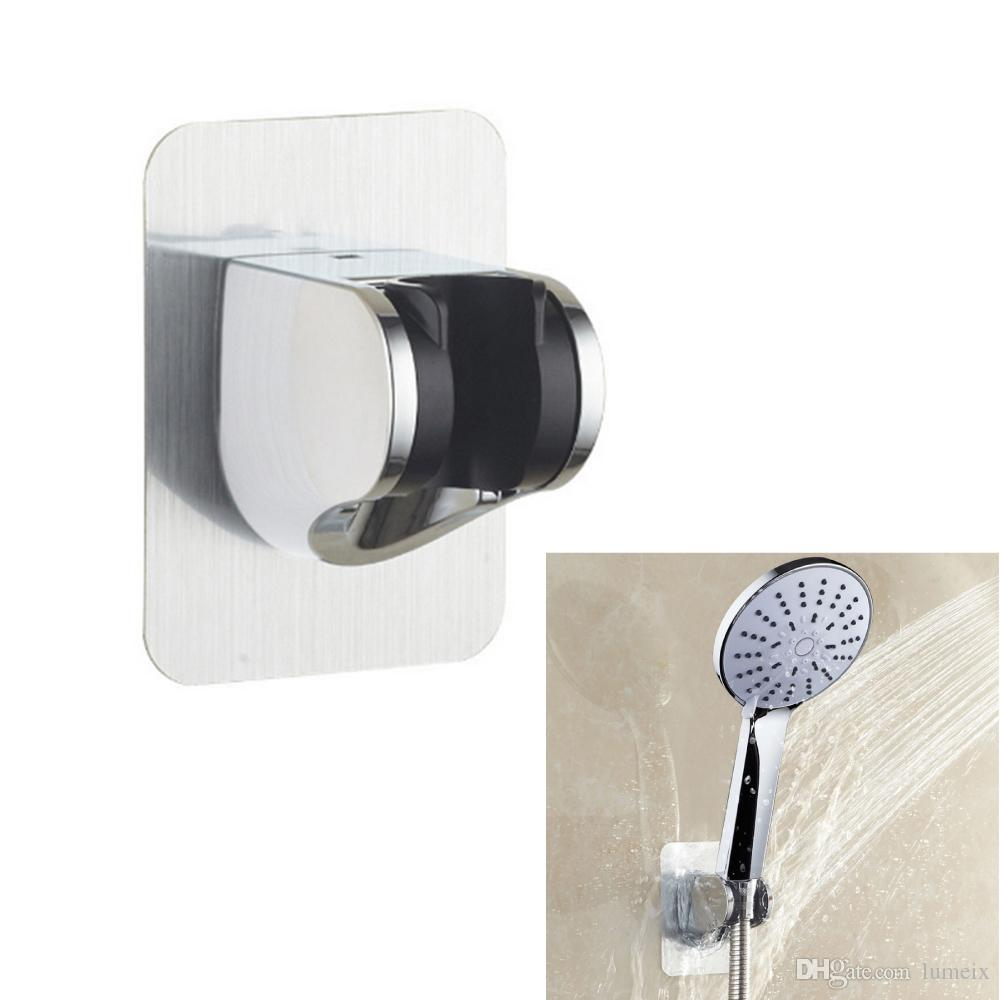 Utility Adjustable Shower Head Holder Wall Mount Suction Cup Bathroom Bracket CA