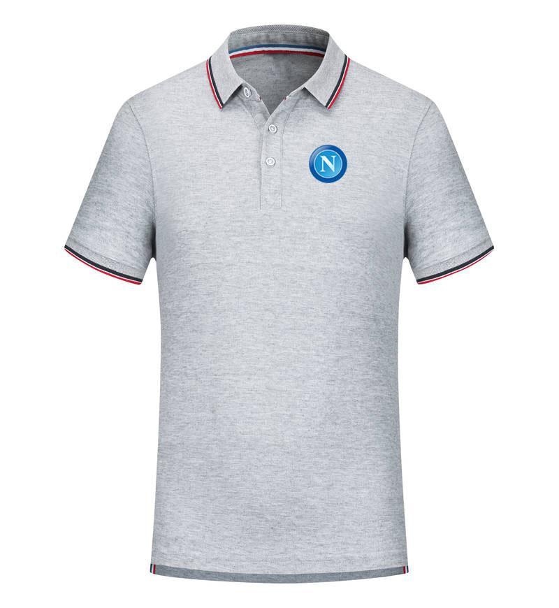 T-shirt SSC Napoli squadra di football americano dei nuovi uomini di Abbigliamento Golf Polo T-Shirt T-shirt polo Pallacanestro T Uomo