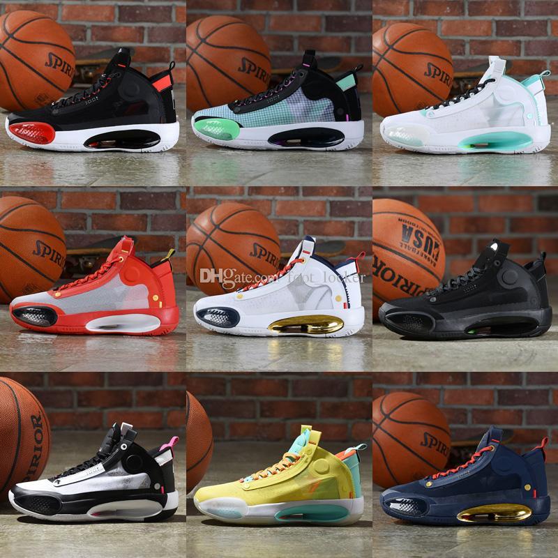 الرجال xxxiv 34 أسود الذهب كرة السلة أحذية الكبار الرياضي bhm يوم عيد الميلاد jumpan الحلوى أطفال رياضية أحذية رياضية