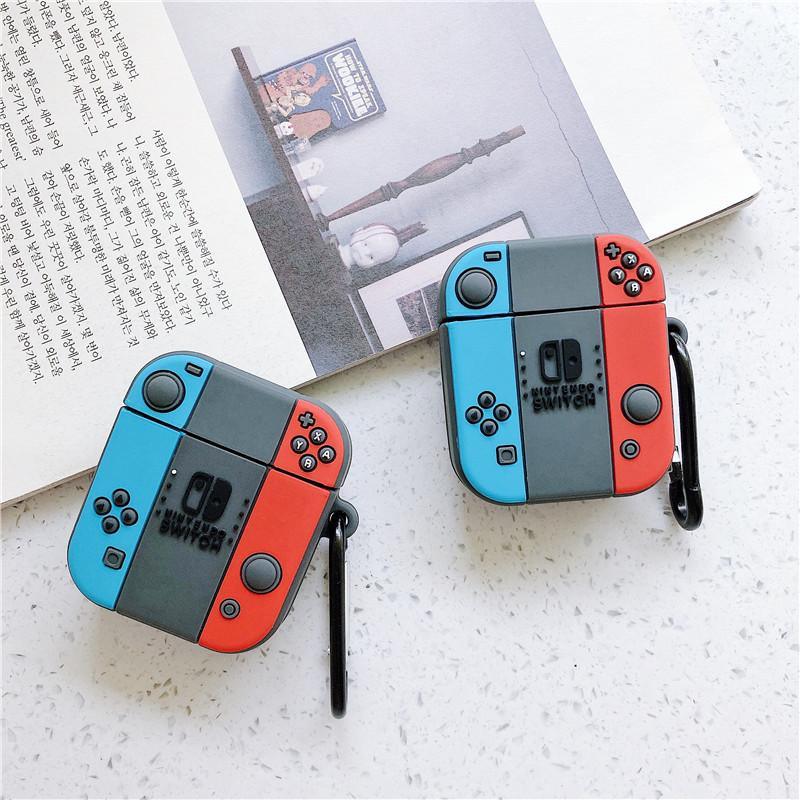 Suitable For Apple Bluetooth Headset Airpods Switch Modeling Wireless Bluetooth Silicone Protective Shell Wireless Bluetooth Cartoon Stereo Custom Cell Phone Case Cute Cell Phone Cases From Dancing777 12 82 Dhgate Com