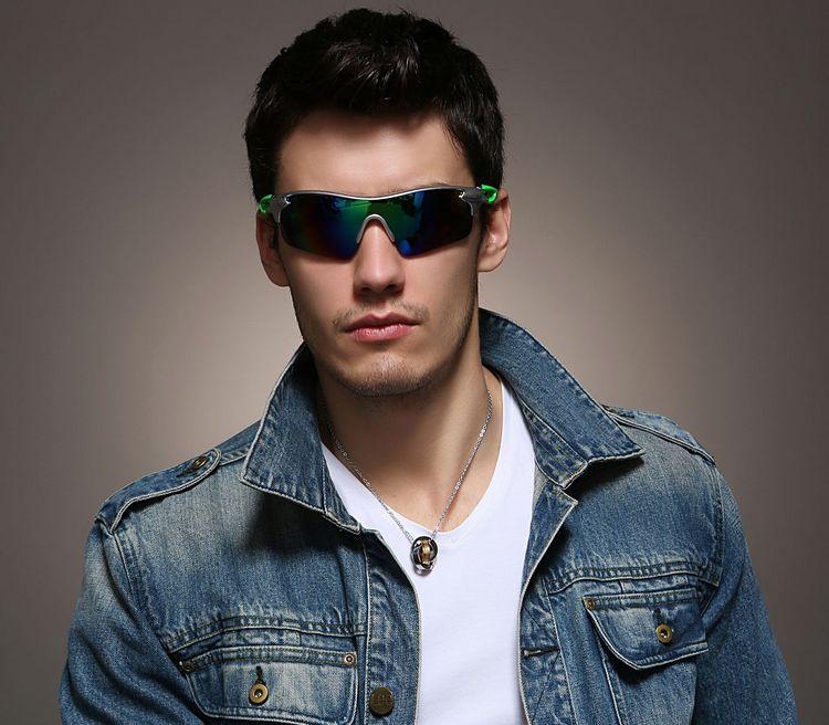 Lunettes de soleil de cyclisme de sport en gros-marque femme extérieure des hommes lunettes de soleil coupe-vent de mode Outwears sport lunettes GGA001