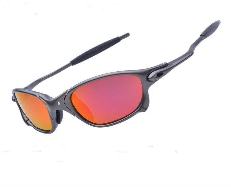 Livraison gratuite originaux pour hommes à vélo des lunettes polarisantes Aolly équitation Métal Lunettes de soleil Lunettes Oculos CP005-3