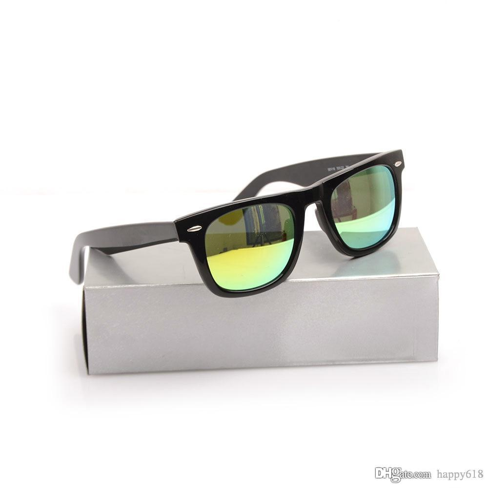 Top quality Designer Plank sunglasses womens glass lens mens sun glasses Color lens sport glasses Brand sunglasses unisex Glasses with boxs